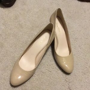 Nine West Patent Leather Wedges